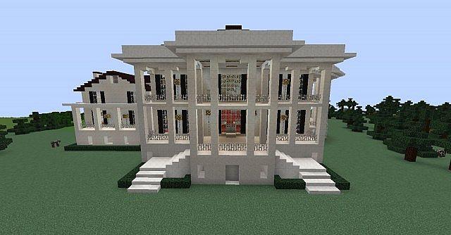Nottoway Plantation Home Minecraft Project