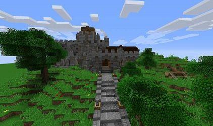 town hall medieval minecraft map schemagic