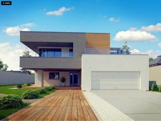 casa moderna modelo arizona modern minecraft plano m2