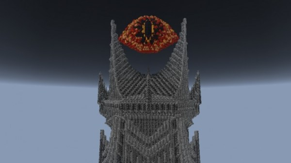 Barad Dur Sauron39s Fortress Minecraft Project