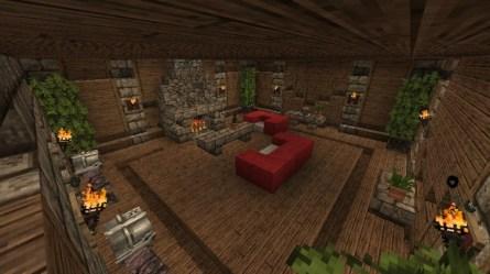 Medieval Interior Ideas Minecraft Map