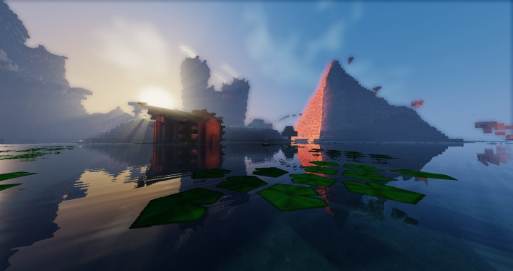 Scenic Parkour Minecraft Project