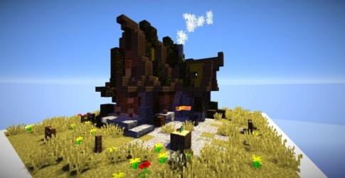blacksmith forge minecraft shack shaders everything