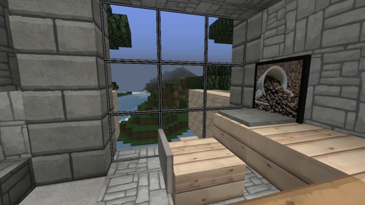 Tutor High Diversity Housing Tower Minecraft Project