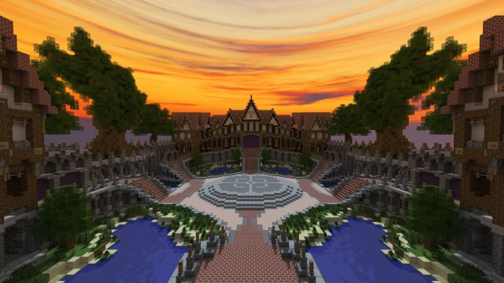 Small Medieval Lobby [ Download ] Minecraft Project