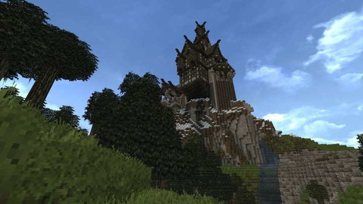 SkyrimInspired Castle Minecraft Project