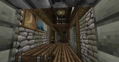 Zyria Medieval House Interior 3 Minecraft Map
