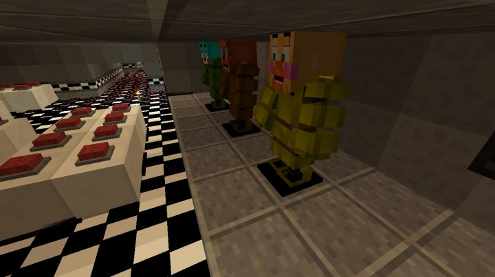 Minecraft Mods Five Nights At Freddy39s Minecraft Horror