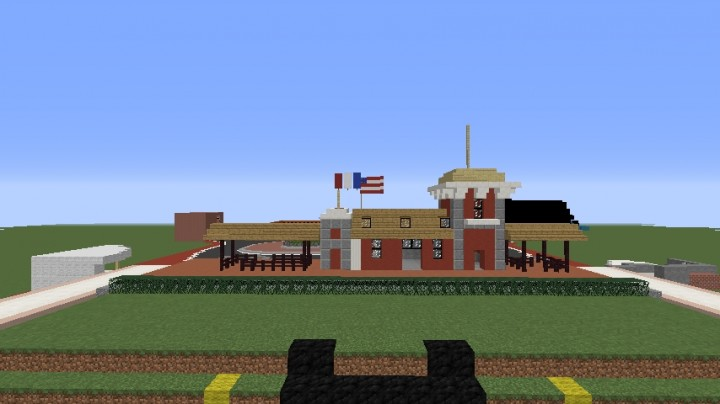 Disneyland California Minecraft Project