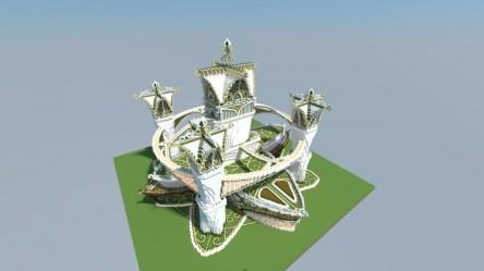 Elven Castle Minecraft Map