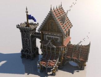 minecraft medieval houses mondays buildings castle build designs cool building projects blueprints project construction planetminecraft builds creations plans maison stuff