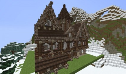 medieval hall town 7th published minecraft pm