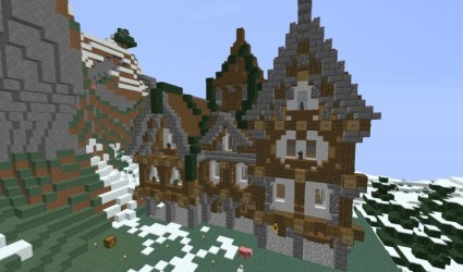 hall town medieval project minecraft 7th published pm