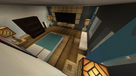 Furniture Modern Bedroom Design Minecraft Map