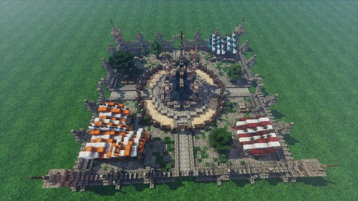 Medieval Mondays 5 Marketplace Minecraft Project