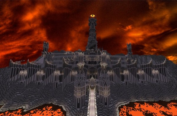 Barad Dur the dark tower of SauronLord of the Rings