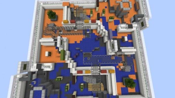 Splatoon MapSplatoon Mechanics in one command Minecraft