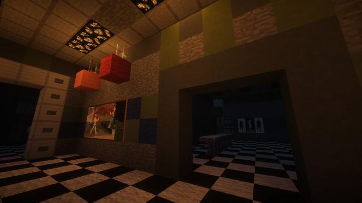 2 Skins Nights Five Freddy Five Minecraft Nights Freddys
