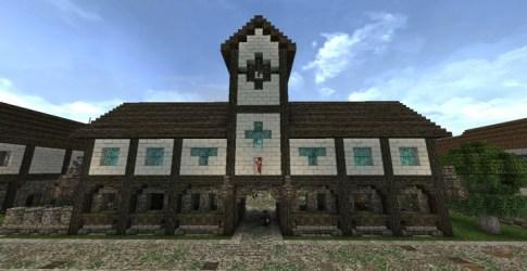 hall medieval minecraft schemagic