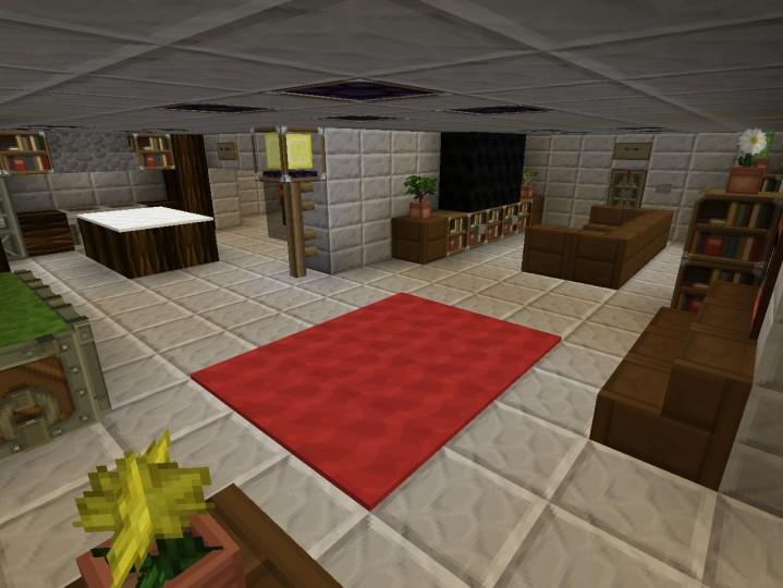Underground Apocalypse Bunker Minecraft Project