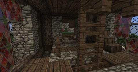 bakery medieval dining room minecraft