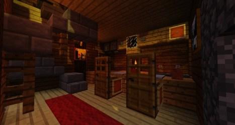 medieval kitchen mini residence minecraft project