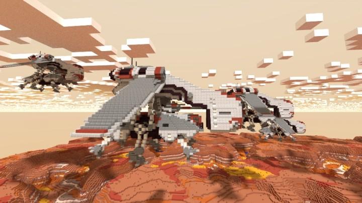 LAAT STAR WARS Minecraft Project