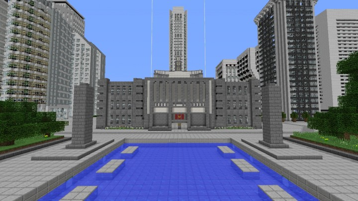 The Capital From The Hunger Games Series Minecraft Map