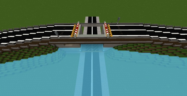 Storm Surge Barrier Minecraft Project