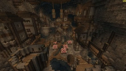 dwarven underground minecraft project map 27th aug published pm