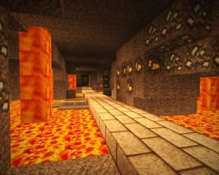 underground dwarf complex forge minecraft runway