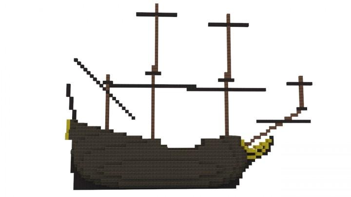 Fluyt (Derfflinger) Minecraft Project