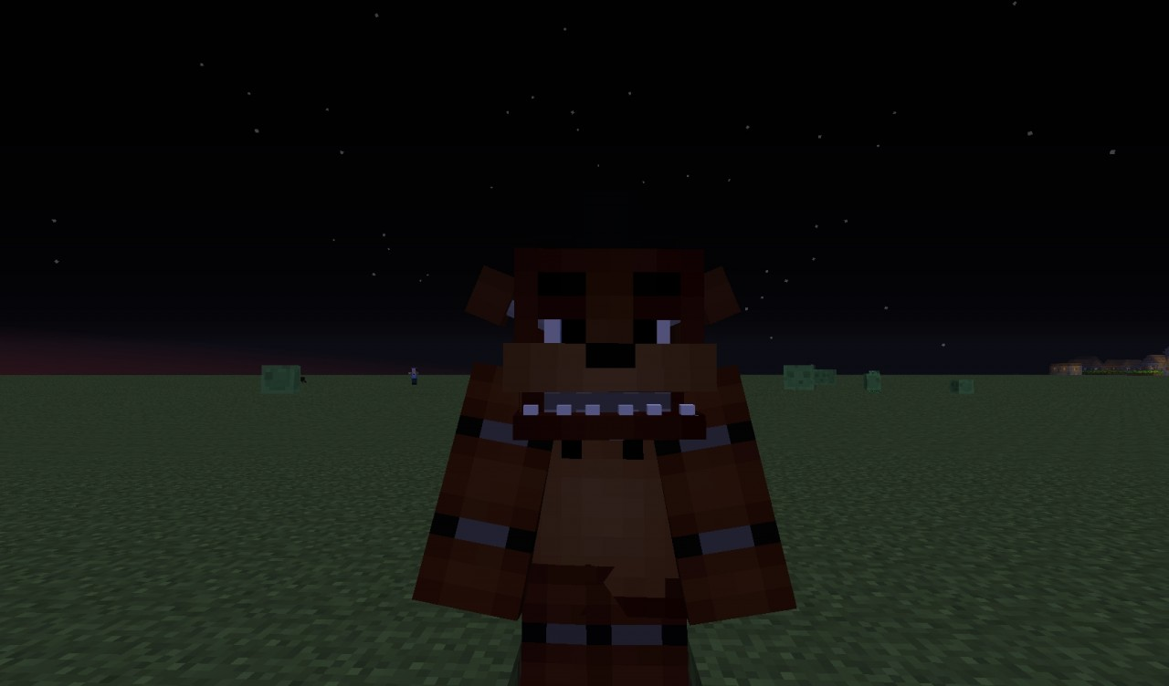 2 Skins Nights Five Freddy Five Minecraft Nights Freddys