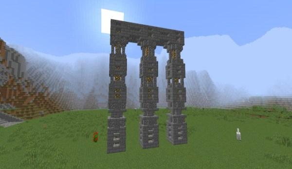 Dwarven Colums Minecraft Project