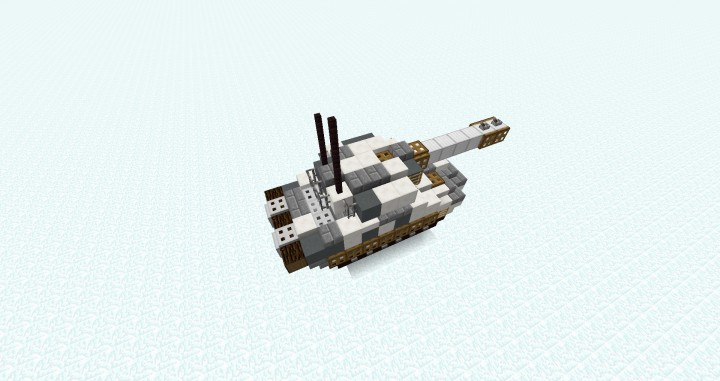 Soviet T-80 Tank Minecraft Project
