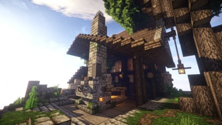 medieval blacksmith forge project minecraft