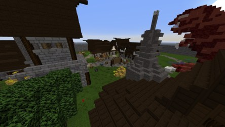 Minecraft Town Square 2