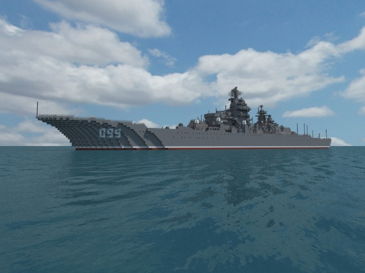 KirovClass Battlecruiser  Schematic Minecraft Project