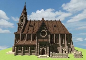 church minecraft medieval churches castle tutorial blueprints planetminecraft buildings map designs project stables amazing keywordsuggest info