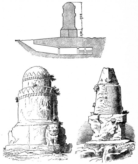 The Monument El-Meghazil of Amrith (Phoenician tombs