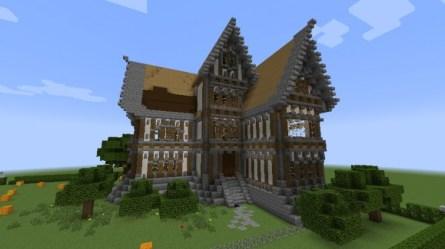 Medieval House Minecraft 4