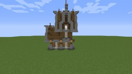 Small Medieval House Minecraft Schematic