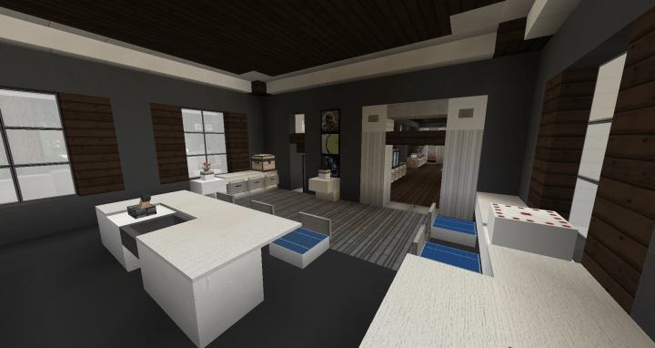 Small Kitchen Design Minecraft