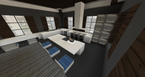 Small Kitchen Interior Design 1 Minecraft Map