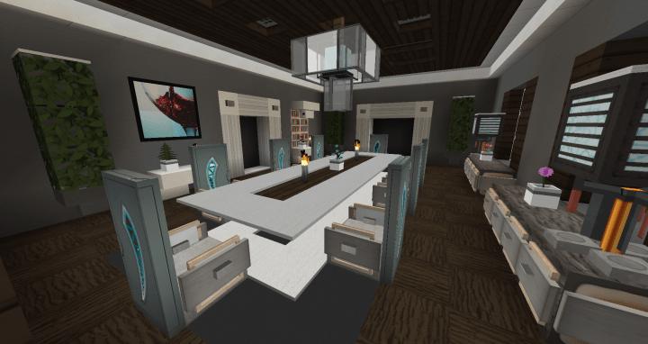 Dining Room Interior Design 1 Minecraft Project
