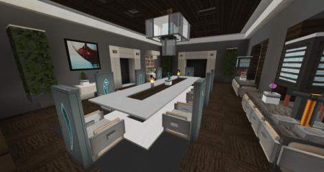room dining interior minecraft overview