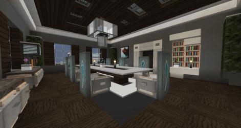 room dining interior minecraft side