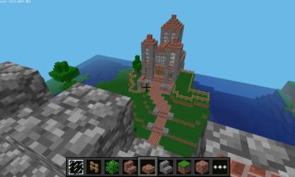 Small Brick and Stone Church Minecraft Map