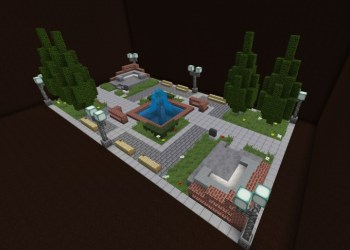 square town modern minecraft version 3d rotation pmcview3d library schemagic planetminecraft