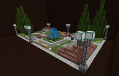 square town modern version minecraft schemagic info announcement feature read planetminecraft